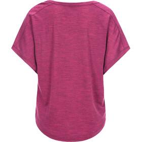 super.natural Motion Peyto - Camiseta manga corta Mujer - rosa